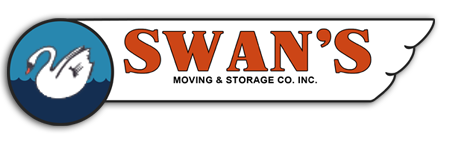Swans Moving & Storage Retina Logo